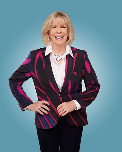 Motivational Speaker Linda Larsen Full Body Shot for Web