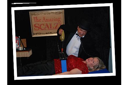 John Scalzi the Magician vs Linda Larsen the Motivational Speaker