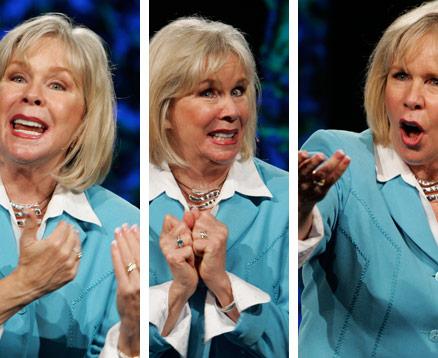 The Many Faces of Motivational Speaker Linda Larsen
