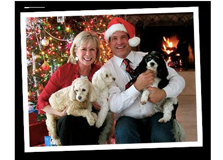 Linda Larsen with Husband John Scalzi and Family
