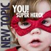 You! Super Hero Program Icon